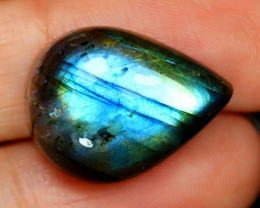 Labradorite 17.30Ct Natural Blue Flash Color Labradorite AB5965