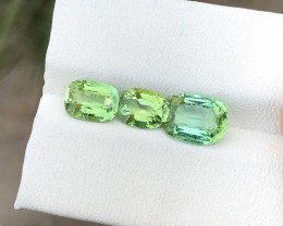 3.70 Ct Natural Greenish Blue Transparent Tourmaline Gemstone Parcels
