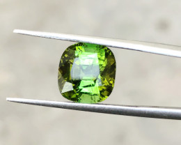 3.70 Ct Natural Bi Color Transparent Tourmaline Ring Size Gemstone