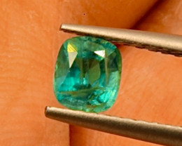 0.46 ct Grandidierite  Open Colors  Gemstone