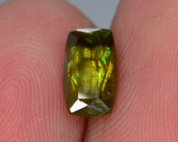 Rarest Unbelievable Fire 0.95 Ct AAA Brilliance Chrome Sphene