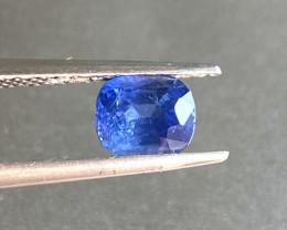 1.21ct unheated blue sapphire