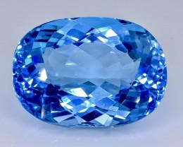 35.30 Crt  Topaz Faceted Gemstone (Rk-29)