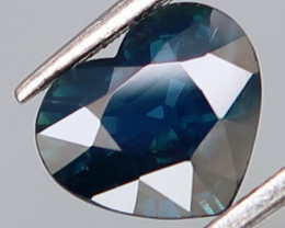 1.12Ct.Ravishing Color Natural Top Blue UNHEATED Sapphire Africa HEART Love