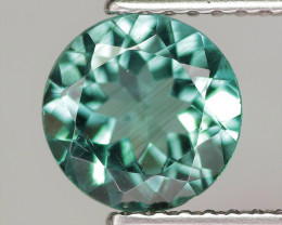 1.15 Cts Un Heated Natural Blue Apatite Gemstone