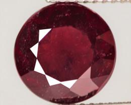 4.10 Cts Unheated Natural Deep Red Rhodolite Garnet Gemstone