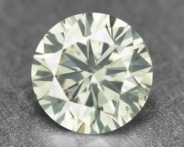 0.24 Cts Fancy Untreated Yellowish Gray Natural Loose Diamond