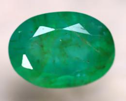 Emerald 2.70Ct Natural Zambia Green Emerald E1716/A38