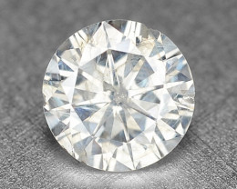 0.25 CTS UNTREATED ICE WHITE NATURAL LOOSE DIAMOND