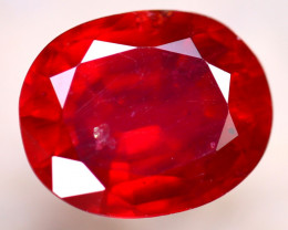 Ruby 4.05Ct Madagascar Blood Red Ruby D1813/A20