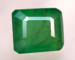 Emerald 3.07Ct Natural Zambia Green Emerald D1815/A38