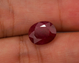 **No Reserve** 5.2ct Oval-Cut Ruby