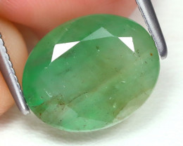 Zambian Emerald 2.99Ct Oval Cut Natural Green Color Emerald B7725