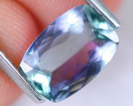 1.59cts Natural Greenish Blue Tanzanite/ MA880