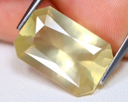 Bytownite 7.63Ct VVS Octagon Cut Natural Yellow Bytownite AB6220