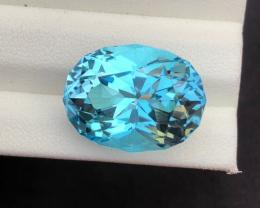 Stunning 19.85 Ct Natural Blue Topaz Gemstone