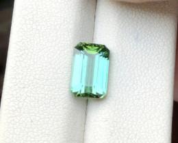 2.75 Ct Natural Greenish Blue Transparent Tourmaline Ring Size Gemstone