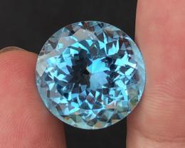 Stunning 29.75 Ct Natural Blue Topaz Gemstone