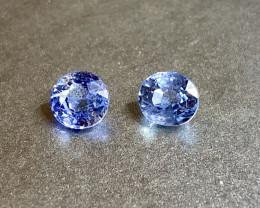 1.06ct unheated blue sapphire