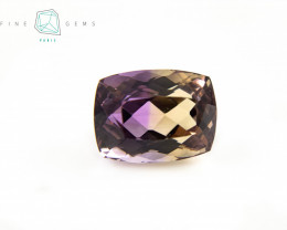 9.93 carats Natural Ametrine Cushion cut