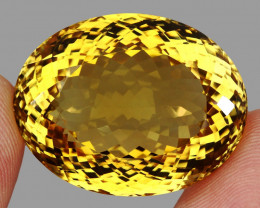 Museum Size 103.20 ct. Natural Unheated Top Quality Yellow Golden Citrine