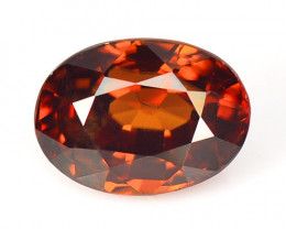*NoReserve* Brown Zircon 4.24 Cts Natural Loose Gemstone