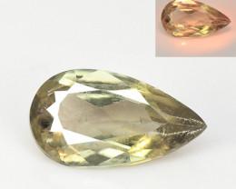Turkish Diaspore 3.07 Cts Rare Color Changing Natural Gemstone