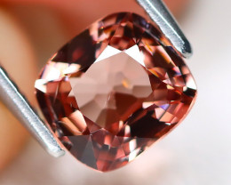 Spinel 1.22Ct VS Master Cut Natural Burmese Peach Color Spinel AB6433