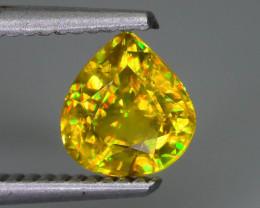 Rare AAA Fire 1.33 ct Malayaite Sphene Badakhshan Afghanistan Sku-65