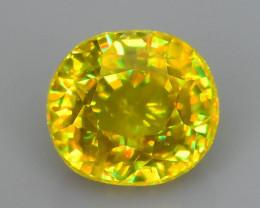 Rare AAA Fire 0.86 ct Malayaite Sphene Badakhshan Afghanistan Sku-65