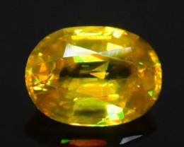 Rare AAA Fire 1.75 ct Malayaite Sphene Badakhshan Afghanistan Sku-65