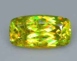 Rare AAA Fire 3.84  ct Sphene Sku-63