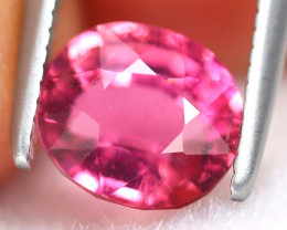 Rubellite 1.37Ct Oval Cut Natural Vivid Red Rubellite Tourmaline AB6362