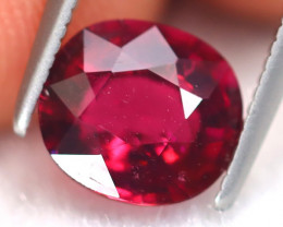 Rubellite 1.81Ct Oval Cut Natural Vivid Red Rubellite Tourmaline B6365