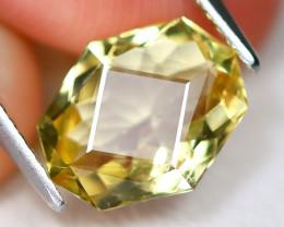 Yellow Beryl 2.08Ct VS2 Master Cut Natural Golden Yellow Beryl AB6377