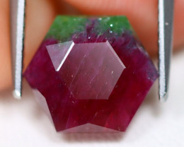 Ruby Zoisite 4.81Ct Master Cut Natural Unheated Ruby Zoisite B6381