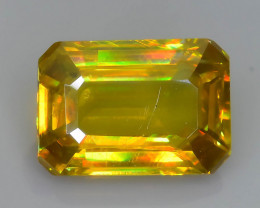 Rare AAA Fire 1.19 ct Malayaite Sphene Badakhshan Afghanistan Sku-65