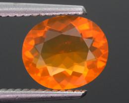 Bright Orange 1.43 ct Mexican Fire Opal SKU.10