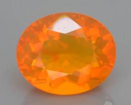 Neon Orange 2.41 ct Mexican Fire Opal SKU.10