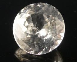 0.86ct Round White Sapphire