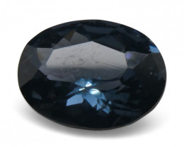 1.55ct Oval Blue Spinel