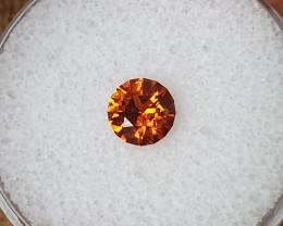 0,82ct Fanta  orange Spessartite Garnet - Master cut!