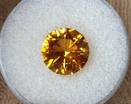 6,95ct Golden Citrine - Master cut!