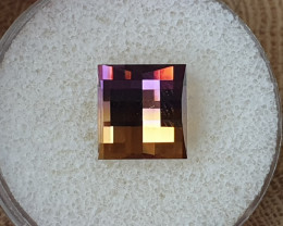 6,22ct Ametrine - Pixelated cut!