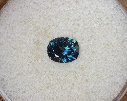 1,76ct blue/teal to grass green colour change Sapphire - Master cut