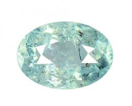 Blue Green Paraiba 0.88 Cts Tourmaline Copper Bearing