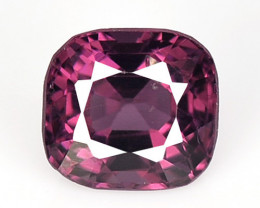 1.27 Cts Un Heated Very Rare Purple Pink Color Natural Spinel Gemstone