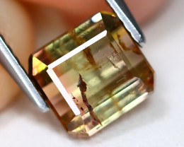 Tourmaline 1.86Ct Octagon Cut Natural Watermelon Tourmaline B2502