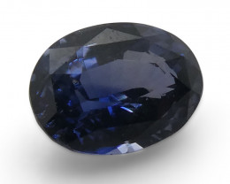 1.05ct Oval Blue Spinel-$1 No Reserve Auction