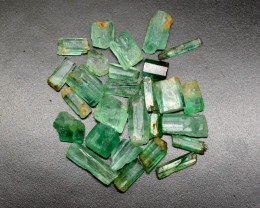 44 CT Beautiful  Emerald Crystals@Afghanistan